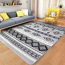 Teppiche Teppich Mode Europäischen Wohnzimmer Studie Schlafzimmer Rechteck Nacht Teppiche 130 * 190 CM ( Farbe : D )