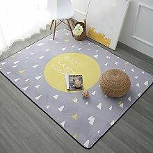 Teppiche Teppich Rechteckige Haushalt Europäischen Stil Wohnzimmer Minimalistischen Modernen Schlafzimmer Nachttisch Teppiche Couchtisch Sofa 100cm × 150cm, 120cm × 180cm ( Farbe : C , größe : 100cm × 150cm )