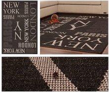 Teppiche - Teppich Sweden - Täby Graphit 120cm x
