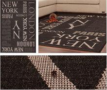 Teppiche - Teppich Sweden - Täby Graphit 200cm x