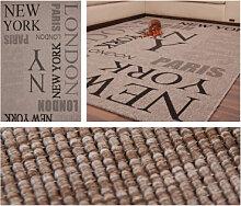 Teppiche - Teppich Sweden - Täby Silber 200cm x