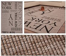 Teppiche - Teppich Sweden - Täby Silber 80cm x