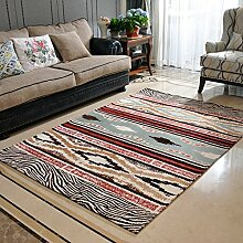 Teppiche Teppich Teppich Einfache Moderne Heim Wohnzimmer Couchtisch Nordic Rechteckige Zimmer Teppich Voller Shop 80x120cm ( Farbe : A )