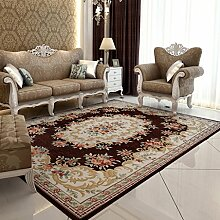 Teppiche Teppich Teppich Europäischen Rechteckigen Bettdecke Wohnzimmer Couchtisch Studie Teppiche 120 × 180 Cm ( Farbe : E )
