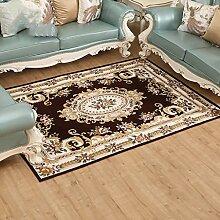 Teppiche Teppich Teppich Im Europäischen Stil Couchtisch Decke Wohnzimmer Hause Nachttisch Rechteckiges Schlafzimmer Sofa 100 × 150cm ( Farbe : B )