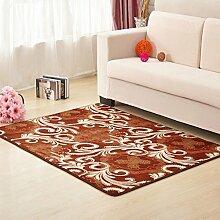 Teppiche Teppich Teppich Sofa Couchtisch Kissen Europäischen Rechteckigen Wohnzimmer Minimalistischen Modernen Schlafzimmer Nacht 80 * 200 Cm, ( Farbe : Color A )