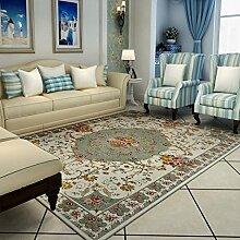 Teppiche Teppich Teppich Wohnzimmer Couchtisch Studie Teppich Europäischen Schlafzimmer Rechteckigen 120 × 180 CM ( Farbe : A )