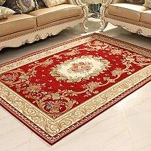 Teppiche Teppich Teppich Wohnzimmer European Fashion Home Schlafzimmer Bettdecke Büro Studie Couchtisch Sofa Kissen 120cm × 180cm ( Farbe : D )