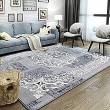 Teppiche Teppiche Mode Rechteckige Wohnzimmer Studie Stühle Bettdecken Dicker Schlafzimmer Europäischen 130 * 190 CM ( Farbe : B )