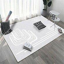 Teppiche waschbarer Teppich Anti-Rutsch,