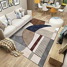 Teppiche Wohnzimmer Stuhl Teppich Braun Blaugrau