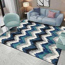 Teppiche wohnzimmerteppich modern Blauer grüner