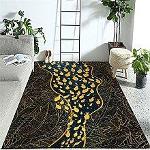 Teppiche Zimmer Teppich Blaue gelbe