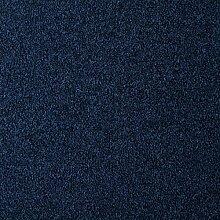 """Teppichfliesen selbstliegend Velours Büro Schatex Office Extreme """"2925 Dunkelblau"""" (20 Fliesen = 5 m²), Farbe: Blau, Größe: 50 x 50 cm"""