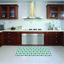 Teppichläufer/ Küchenläufer/ maschinenwaschbar, Küchenteppich/ Läufer, 52cm x 100cm, anti-milben und rutschfest, teppich/ küchenläufer/ bienenwaben muster,100% Made in Italy,teppich mit digitaldruck.