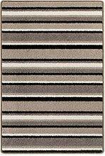 Teppichläufer Kurzflorteppich Streifendesign