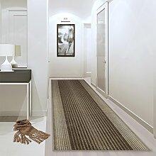 Teppichläufer Leon beige 522 Teppich Läufer Brücke Flur Meterware in 44 Größen. 4 Farben, rutschsicher, 67 cm brei