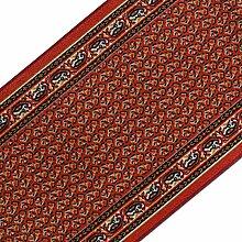 Teppichläufer mit prachtvollem Design   brilliante Farben   hochwertige Meterware, gekettelt   Kurzflor Teppich Läufer   Küchenläufer, Flurläufer (67x250 cm)