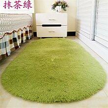 Teppichs Warme und süße Schlafzimmer, Wohnzimmer, Salon, Flur, Romantik weiche Wolldecke Dunkelgrau 1400 x 2000 mm