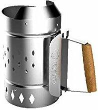 Tepro Anzünd Kamin XL Stahl verzinkt Kohle