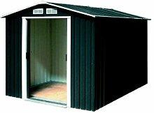 Tepro Gartenhaus / Metallgerätehaus Riverton 6x8 anthrazi