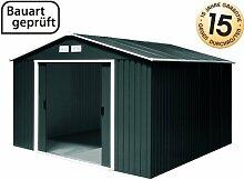 Tepro Gartenhaus / Metallgerätehaus Titan 8x10 anthrazi