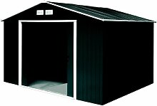 Tepro Gartenhaus / Metallgerätehaus Titan 8x8 anthrazi