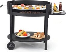 Tepro Holzkohlegrill Chill & Grill Calypso