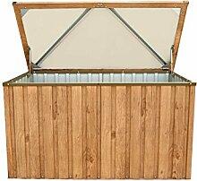 Tepro Metall-Gerätebox Kissen-Box Garten-Schrank