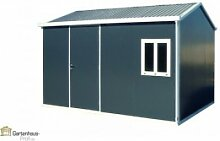 Tepro Metallgerätehaus Gartenhaus Cabana 10x13 -