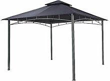 Tepro Pavillon Dunkelblau WAYA 330x330x290 cm Garten Camping Terrasse 5524