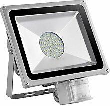 TEquem 50W LED SMD Strahler Fluter Außen