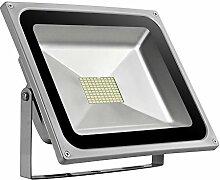TEquem 80W LED Fluter Kaltweiß Außen Strahler
