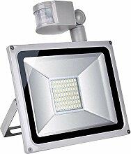 TEquem Kaltweiß 50 Watt LED SMD Flutlicht