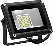 TEquem LED 12V DC Warmlicht 20W LED Außenstrahler