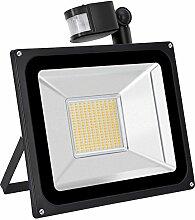 TEquem Warmweiß 100 Watt LED SMD Flutlicht