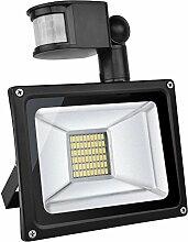 TEquem Warmweiß 30 Watt LED SMD Flutlicht