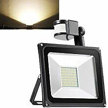 TEquem Warmweiß 50 Watt LED SMD Flutlicht