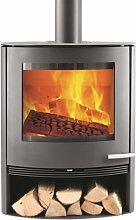 TermaTech TT22 grau 7,5 kW 5 Jahre Hersteller-Garantie* Kaminofen Schwedenofen Ofen