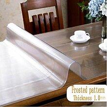 Terraberk wasserdichte transparente PVC-Tischdecke