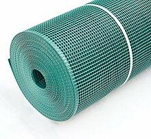 TerraGala Gartenzaun Kunststoffgitter 5mm, 1 x 10m, grün
