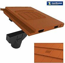 Terrakotta-Marley-Modern / Mini Stonewold nicht-Profil Dach Vent Fliese & Rohradapter