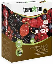 TerraSan Bio Beerendünger NPK Dünger 6+5+6, 1kg