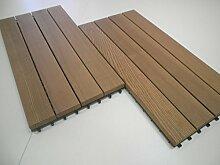 Terrassenfliesen Holz Thermoesche