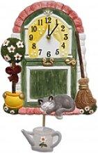 Terrastudio -Haustür mit Katze 29cm- 04.2911