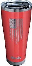 Tervis 1338594 Becher mit US-Flagge, rot, mit