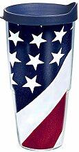 Tervis Becher mit amerikanischer Flagge, 680 ml,