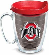 Tervis Becher mit Deckel, 454 ml, Quarz Ohio State
