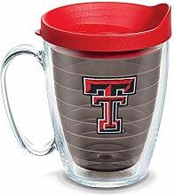 Tervis Becher mit Deckel, 473 ml, Quarz Texas Tech