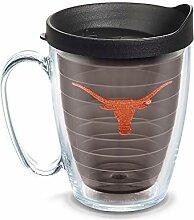 Tervis Becher mit Deckel, 473 ml, Quarz Texas Univ
